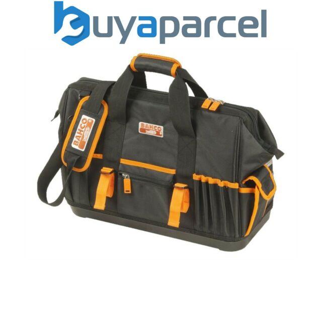 Werkzeugtasche mit Gummiboden Profi 40x22x31cm Schultertragegurt Griff 360.032