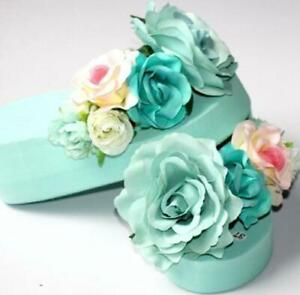 Womens-Beach-Flower-Wedge-Heels-Flip-Flops-Platform-Chic-Slippers-Shoes-Sandals