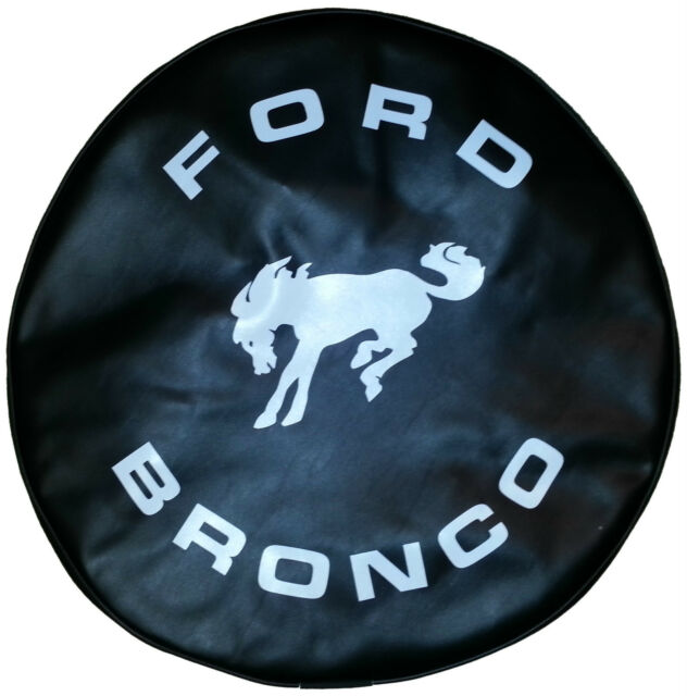 SpareCover® ABC Series - FORD BRONCO 27 BLACK Heavy Duty Vinyl Tire Cover