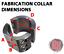 "Rock Hard 4X4 Fabrication Collar 2/"" ID RH-1200"
