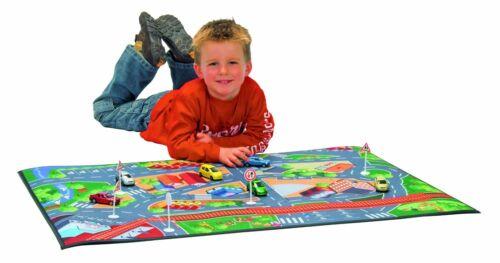 Majorette 213315749 - Play Mat Spielteppich 100 x 70 cm