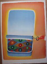 Photo Lithographie de Jean-Michel FOLON 1984 Musée d'art moderne Céret Mourlot