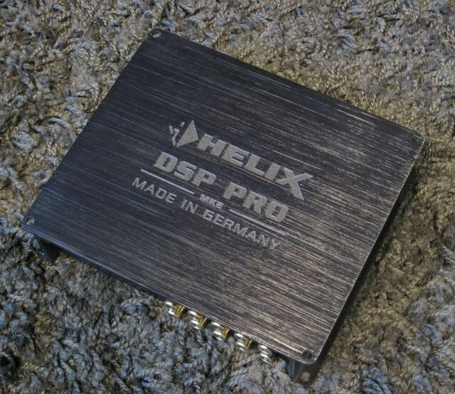 HELIX DSP PRO MK2 - HIGH-END, EISA THE BEST IN-CAR PROCESSOR, DIGITAL-IN, NEW