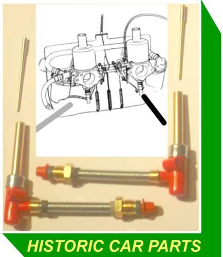 "HS2 1 1//4 /""su Carburador Jet assys /& STD/"" aan /""agujas TRIUMPH SPITFIRE MK 4 1970-74"