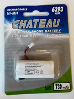 NEW Chateau Cordless Phone Battery 2.4V #6393 $2 ONLY! Mississauga / Peel Region Toronto (GTA) Preview