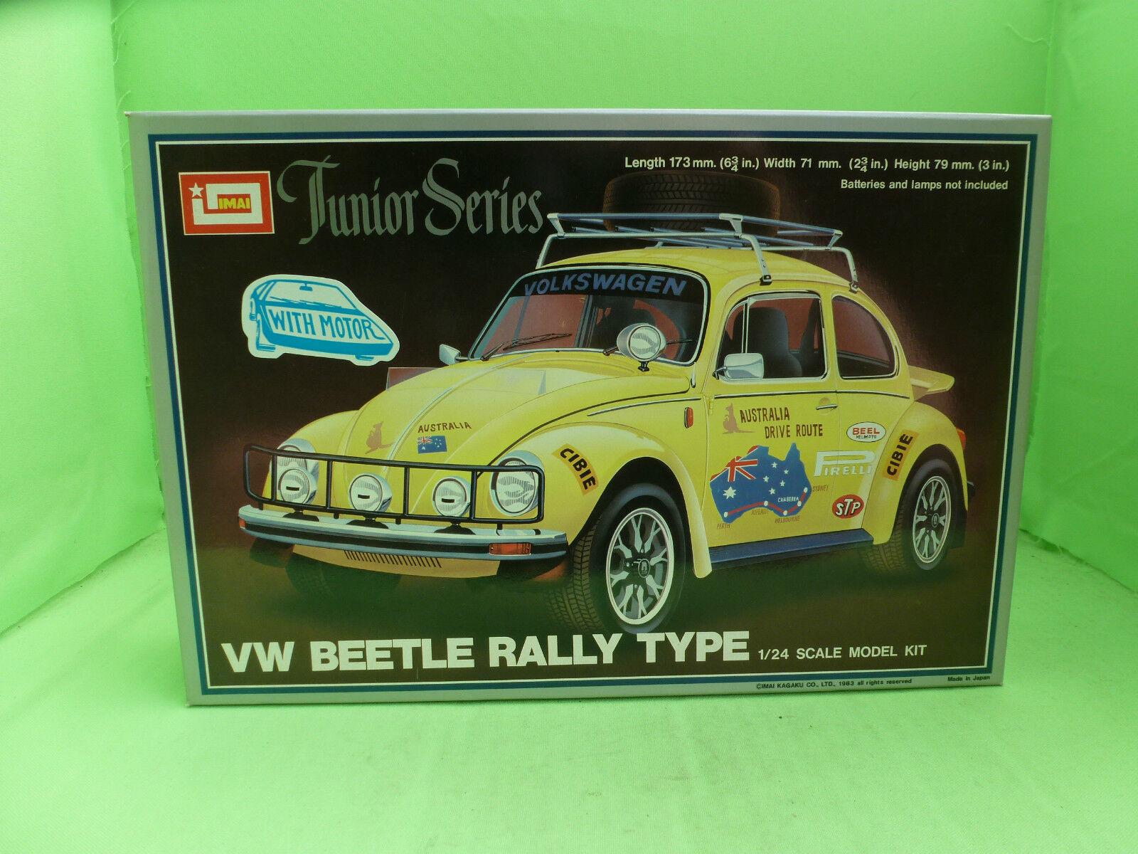 IMAI 11 B-1323 VW BEETLE KAFER RALLY TYPE 1 24 - UNBUILT INBOX COMPLETE -