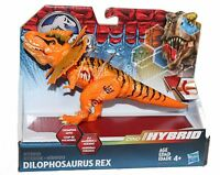 Dilophosaurus Rex Jurassic World Hybrid Dinosaur