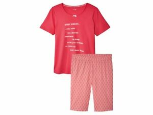 1cc264a35c01fb Das Bild wird geladen Damen-Schlafanzug-Sommer-Pyjama-Shorty-Set-2-teilig-