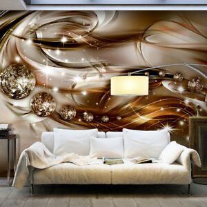 VLIES FOTOTAPETE Ornamente gold Diamant 3D optik TAPETE Schlafzimmer ...