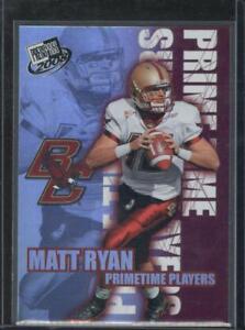 Matt Ryan 2008 Press Pass Primetime Players #PP-3 Rookie RC Card Atlanta Falcons