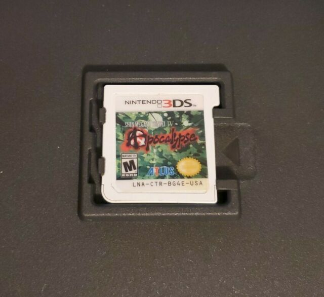Shin Megami Tensei IV: Apocalypse (Nintendo 3DS, 2016) CART ONLY - art damage