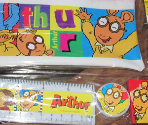 Incredibly Rare*22-Yr.Old*Original*Marc Brown ARTHUR Study Kit from 1995!