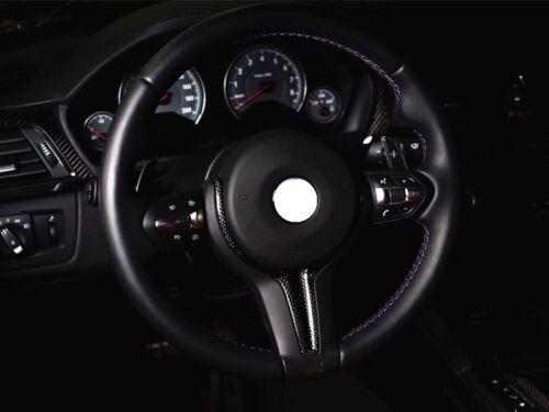 Carbon Lenkrad-Spange Dekor-Blende passend für BMW M2 F87 M3 F80 M4 F82 F83 X5M