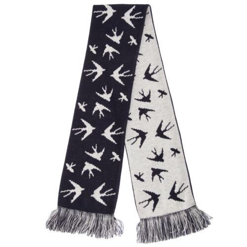 SK268 FLOSO Damen Winter Schal mit Schwalbenmuster