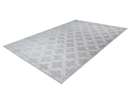 Tapis marocain design MAROC motif dégradé gris Argenté 120x170cm