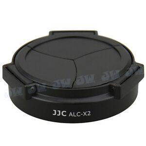 JJC-Self-Retaining-Auto-Open-amp-Close-Lens-Cap-for-LEICA-X1-amp-X2-Camera-BLACK