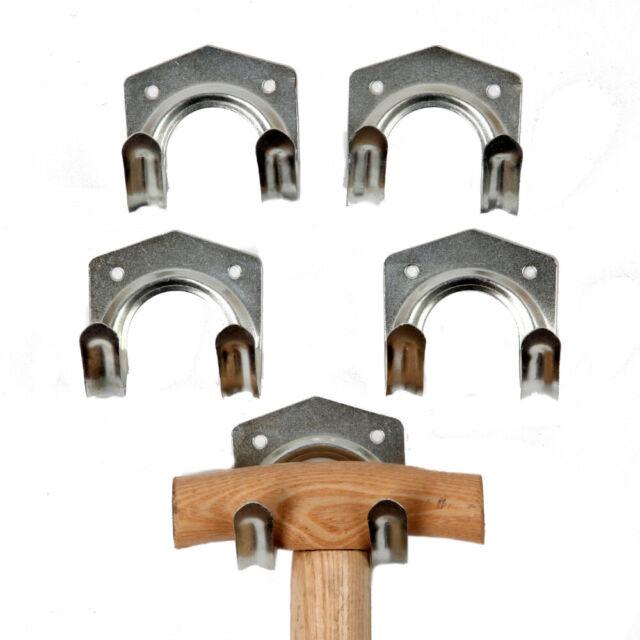 Geräteaufhängung Gartengerätehalter Werkzeughalter Werkzeugständer 5er Set carat