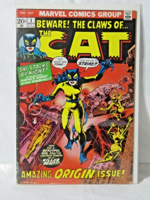 MARVEL THE CAT  - 1ST SERIES - ISSUE 1 - NOV 1972 - VF