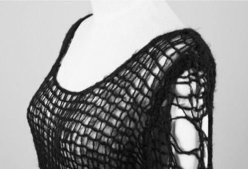 Pull long gothique punk lolita destroy déchiré fashion glam rock mohair PunkRave