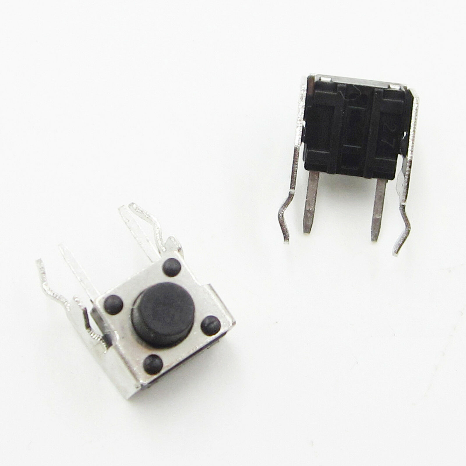 50Pcs Right Angle 2 Pin Momentary Tactile Tact Push Taste Switch 6*6*6mm AHS