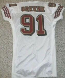 SAN FRANCISCO 49ERS AUTHENTIC GAME JERSEY KEVIN GREENE 1997 PRO ...