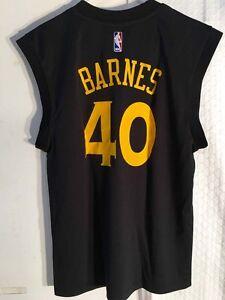 Adidas NBA Jersey Golden State Warriors Harrison Barnes Black ...
