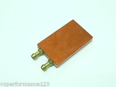 VXP Racing Water Cooling Plate for ESC 42 x 26mm Orange Electric RC Boat EP