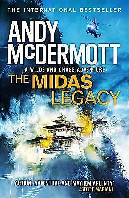 1 of 1 - The Midas Legacy (Wilde/Chase 12), McDermott, Andy | Paperback Book | Good | 978