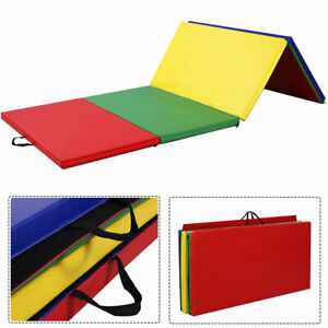 4-039-x8-039-x2-034-PU-Gymnastics-Mat-Gym-Folding-Panel-Yoga-Exercise-Tumbling-Pad-4-Colors