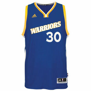 finest selection 2cb8e 67af3 Details about Golden State Warriors adidas Swingman Jersey Stephen Curry  #30 Crossover Run TMC