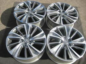 SET NEW TAKE OFF FACTORY ACURA MDX HONDA PILOT TL OEM - Acura mdx oem wheels