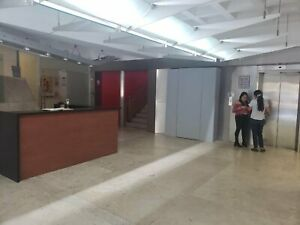 Rento Oficina 150 M2 San M Chapultepec Edificio corporativo  Acondicionada