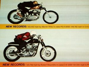 Details about 1967-1968 HARLEY-DAVIDSON SPORTSTER *SPEED RECORDS  *decal/fork/tank/sticker/seat
