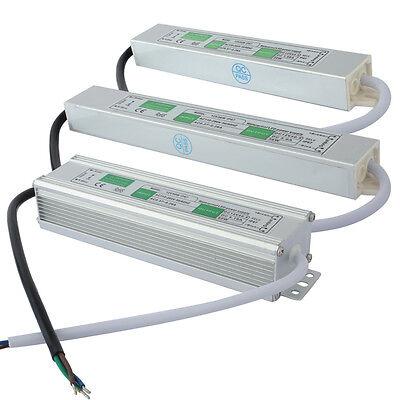 Wasserdicht 20W - 100W LED DC 12V Trafo Netzteil Transformator Stripe Streifen