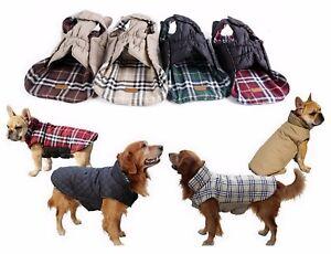 Manteau Hiver Pour Chien Imperméable Vêtement Bouledogue PETIT à EXTRA GRAND