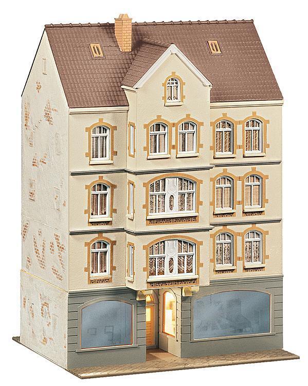 FALLER 130447 Stadthaus mit Kneipe 135x125x200mm NEU OVP  | Lassen Sie unsere Produkte in die Welt gehen