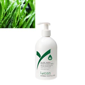ALOE-VERA-GEL-500ML-Soothing-Aloe-Vera-For-DIY-Alcohol-After-Strip-Wax-LYCON