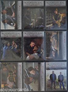 Supernatural-Seasons-1-3-Winchester-Brothers-9-Trading-Card-Insert-Set-J1-J9