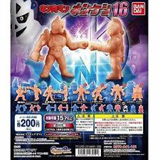 Kinnikuman Kinkeshi 18 All 19 types Complete set Gashapon Capsule Toy Bandai New