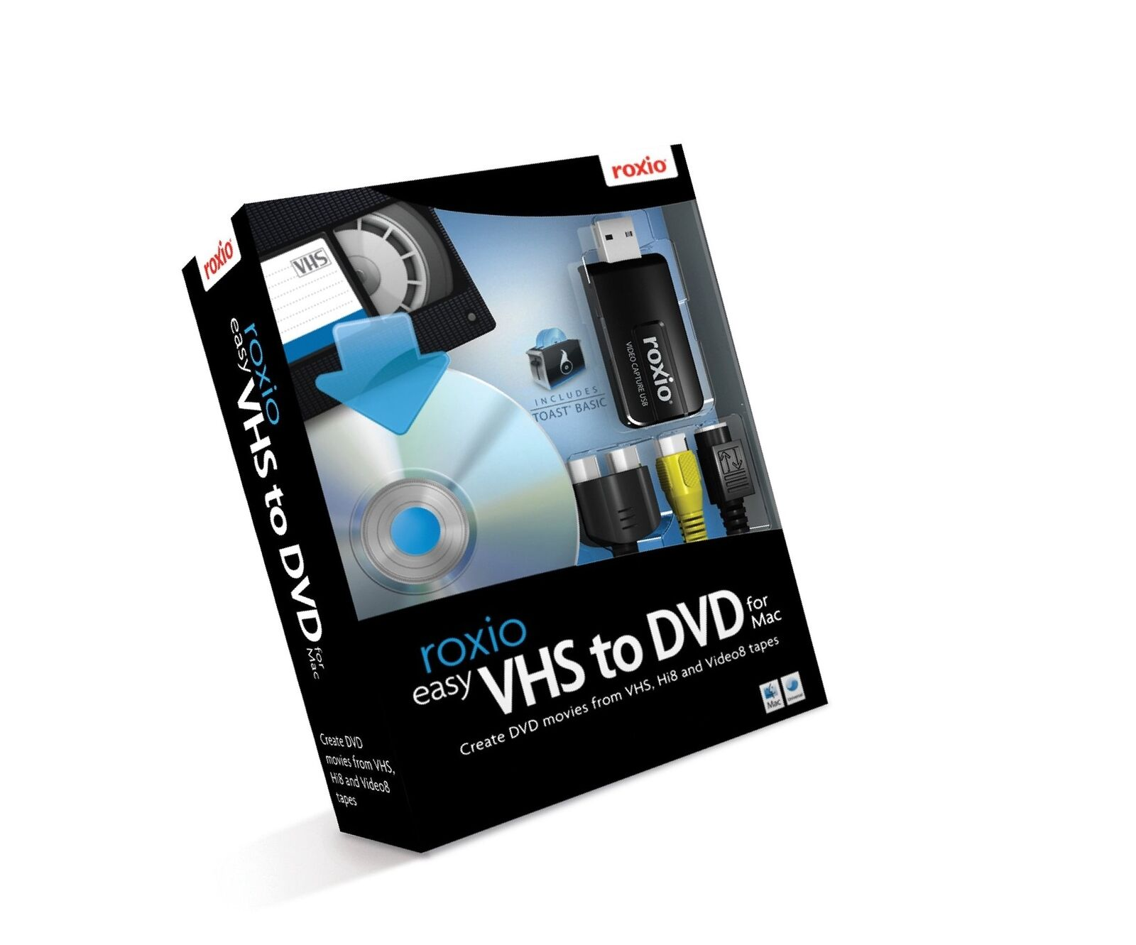roxio easy vhs to dvd software download