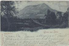 Gruss aus Jena,Germany,Jenzig-Panorama,Thuringia,Used,1899