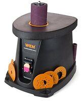Wen Oscillating Spindle Sander, 3.5 Amp 1/2 Hp Woodworking Tool Spindle Sander