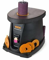 Wen Oscillating Spindle Sander, 3.5 Amp 1/2 Hp Woodworking Tool Spindle Sander