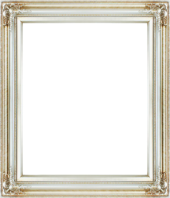 Vintage Style Old Silver Ornate Picture Oil Painting Frame 566-4 Frame 24x20