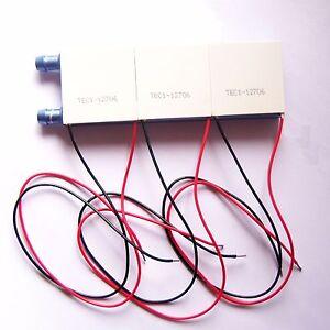 Details about TEC1-12706 Peltier TEC Cooler 122*40mm Liquid Cooling Block  Heatsink DIY CPU W46
