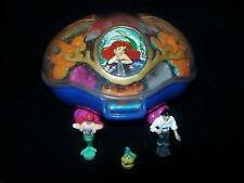 EUC 100% Vintage Disney Polly Pocket The Little Mermaid Playcase 1995