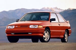1991 Ford Escort gt
