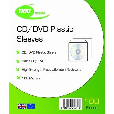12 inch Vinyl Record 180 Micron PVC Stitched Clear Sleeves Premium Quality Pack of 25