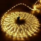 Jingle Jollys 50M 1200 LED String Lights Rope - Warm White
