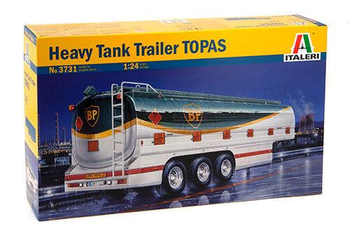 Italeri 1 24 Heavy Tank Trailer TOPAS